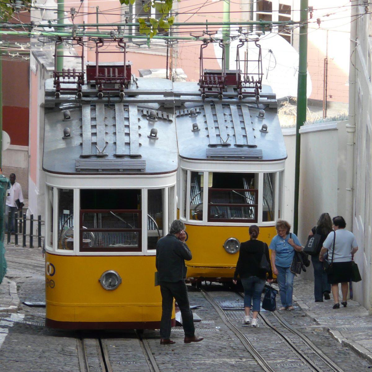 Mit dem ÖPNV 2021 durch Lissabon - am Besten mit Zapping!
